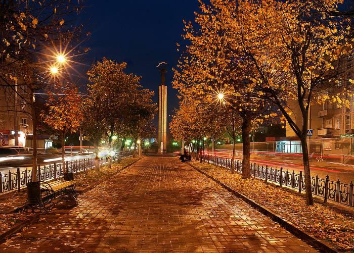 Город: Осенний вечер