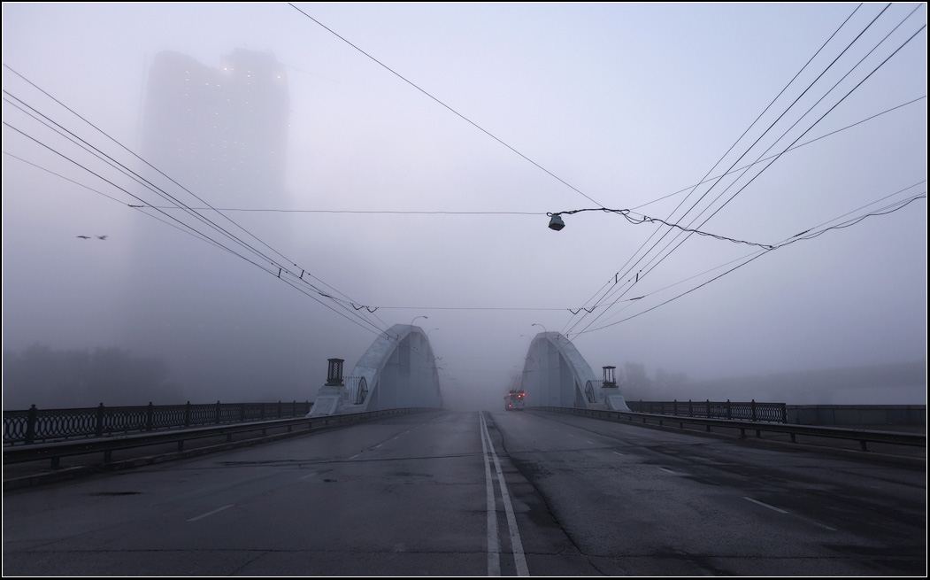 Photo  Туман в городе photographer  Малеева Ольга.