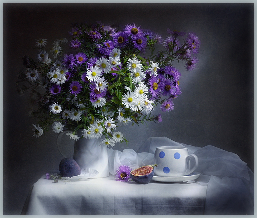 фото осенних цветов: