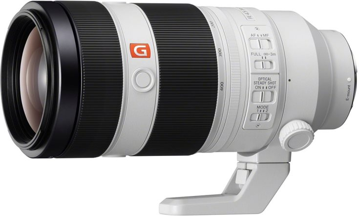 В продаже объектив Sony FE 100-400mm F4.5–5.6 GM OSS должен появиться в июле этого года по цене $2500