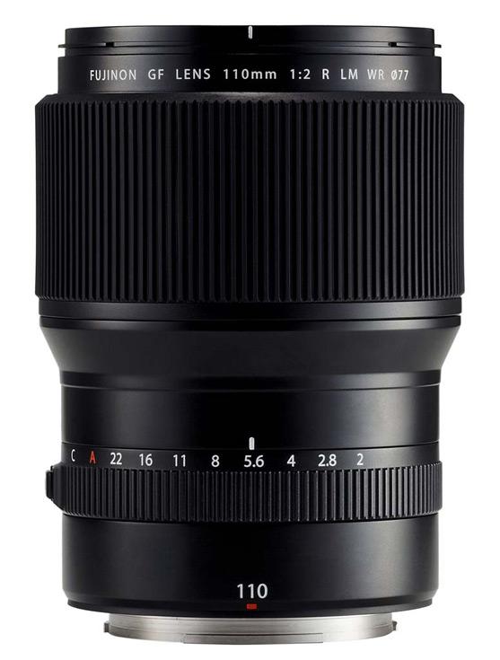 Ожидается, что объектив Fujinon GF 110mm f/2 R LM появится в продаже в середине года