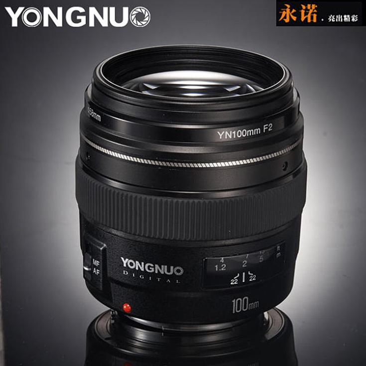 Выход объектива YN100mm F2.0 в варианте с креплением Nikon F ожидается в течение ближайших шести месяцев
