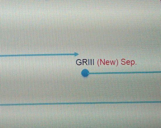 Дорожная карта говорит о том, что компактная камера Ricoh GR III выйдет в сентябре текущего года