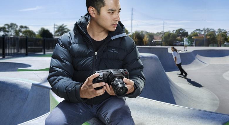 Анонсирован выпуск камеры Blackmagic Design Pocket Cinema Camera 4K