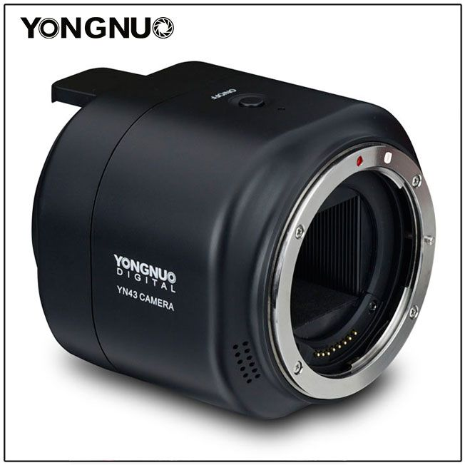 Камера Yongnuo YN43 объединяет датчик изображения формата Four Thirds, объективы Canon и смартфоны