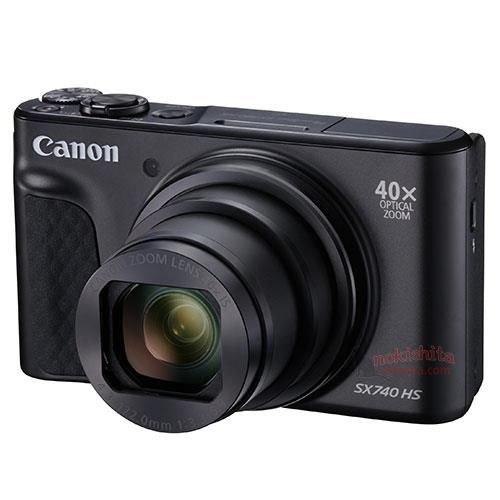 Анонс камеры Canon PowerShot SX740 HS ожидается на этой неделе